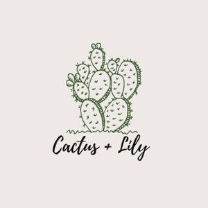 Meet your Posher, Cactus + Lily ✨🌵